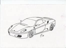 ferrari f430 sketch by bowesmiester on deviantart