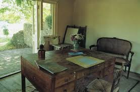 Writer S Chair Virginia Woolf U0027s Writing Desk And Writing Room In The Garden At