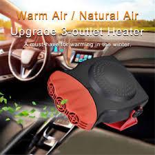 plug in car fan 150w 12v portable ceramic car fan heater cooler dryer defroster