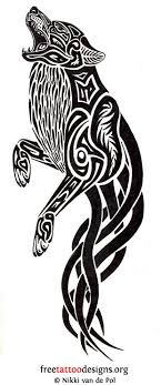 celtic wolf meaning