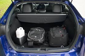 Toyota Prius Interior Dimensions 2017 Toyota Prius Vs Hyundai Ioniq Hybrid Autoguide Com News