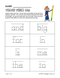 free worksheets abc tracing worksheets for kindergarten free