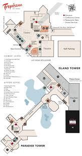 Caesars Palace Floor Plan Tropicana Resort Casino Property Map U0026 Floor Plans Las Vegas