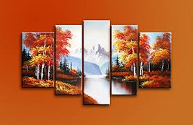 paintings on wood for sale cherish painted paintings on canvas autumn golden
