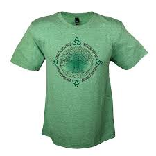 Tree Shirt Tree Of Heathered Green T Shirt Celtic Attitudes