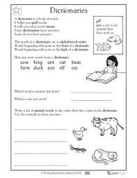 ideas collection dictionary worksheets 2nd grade with additional