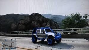 jeep chrome chrome jeep custom paint in gta online youtube