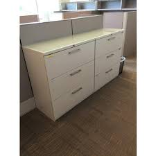 White Lateral File Cabinet Haworth White Lateral File Cabinet 36 W 3 Dr Filing Solutions
