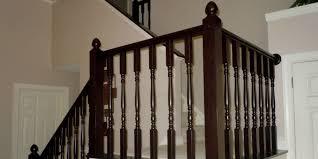 Sanding A Banister Remodelaholic Diy Stair Banister Makeover Using Gel Stain