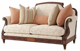 Sofa Kings Road by Reynolds Small Sofa In Cotton Jacquard Fabric Sofas In Stock From