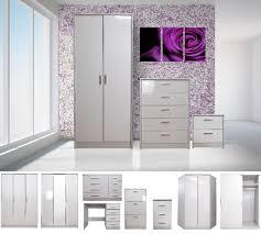 mirrored bedroom furniture ebay