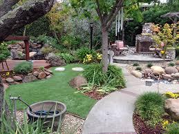 Beautiful Backyards Installing Artificial Grass Sunnyside Utah Lawn And Landscape