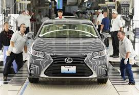 lexus dealership derby first u s built lexus rolls off kentucky assembly line car pro