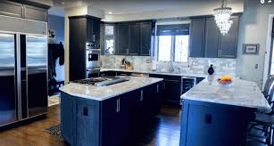 black kitchen cabinets with white countertop top 5 kitchen countertop choices for cabinets marble