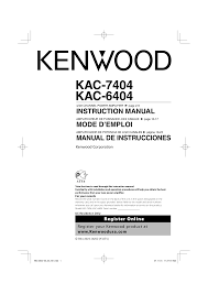 kenwood at 250 instruction manual download free pdf for kenwood kac 6404 car amplifier manual