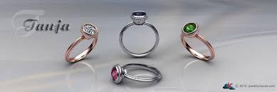 wedding ring models 3d engagement rings cad stl files