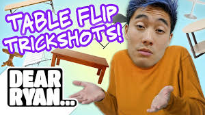 Ryan From Flipping Out by Table Flip Trickshots Dear Ryan Youtube