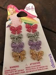 jojo earrings jojo siwa claires exclusive rhinestone pierced earrings bows bow 4