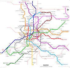 Metro La Map Urbanrail Net U003e Europe U003e Spain U003e Madrid Metro