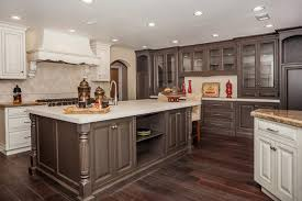 Two Tone Bathroom Kitchen Kitchen Tone Cabinets Painted Two Astounding Image 99