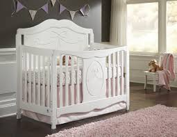 Crib Converts To Bed Storkcraft Princess 4 In 1 Convertible Crib White Walmart Canada