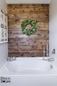 best 25 bathtub redo ideas only on pinterest paneling remodel diy rustic bathroom plank wall bathroom ideas diy home improvement