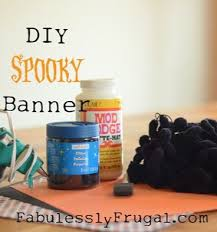 best 25 diy halloween banner ideas on pinterest diy bunting