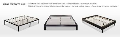 Platform Metal Bed Frame Mattress Foundation Zinus Modern Studio 10 Inch Platform 2000 Metal Bed