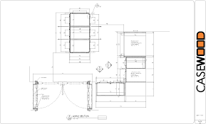 Kitchen Drawings Kitchen Cabinet Section Dwg Monsterlune