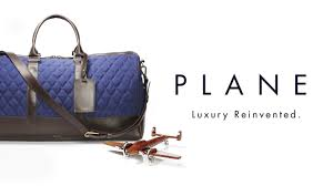 luxury luggage made from aeroplanes by plane industries