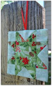 quiltscapes in july ornament tutorial