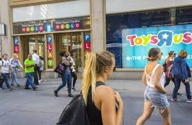 toys r us once a category killer is forced into bankruptcy wsj