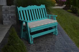 4 u2032 royal english gliding bench amish woodwork
