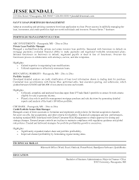 sle resume for masters application 2017 portfolio manager resume free resume exle and writing download