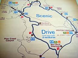 Maps Of Las Vegas Strip by Red Rock Canyon 1 Map Of The 13 Mile Scenic Drive Red Rock U2026 Flickr