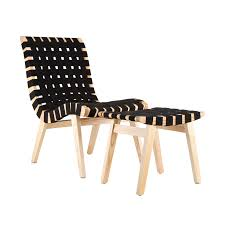 Beech Ottoman Criss Cross Lounge Chair And Ottoman Dotandbo Things I