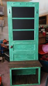Headboard From Old Door by Nice Looking Hall Tree Made From An Old Door And A Headboard I