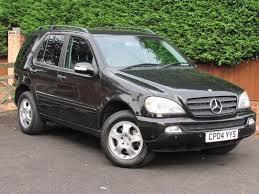 2004 mercedes m class ml350 2004 mercedes m class ml350 automatic petrol 7 seats black