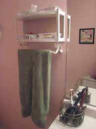 Bathroom Wall Cabinet With Towel Bar by Bathroom Towel Shelves Bed Bath Beyond Shelves Door Towel Rack