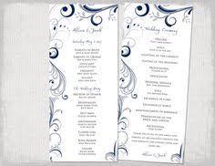 tea length wedding programs templates free free wedding program templates lovetoknow wedding templates