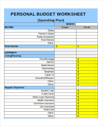 Free Excel Personal Budget Template 25 Budget Templates In Excel Free Premium Templates