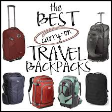 travel packs images Easy packing the best carry on travel backpacks bearfoot theory jpg