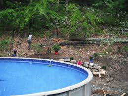 bl landscaping ideas around pools