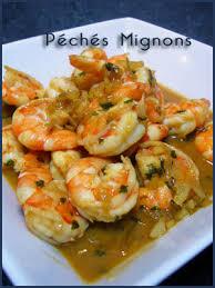 recette cuisine wok wok de crevettes sautées péchés mignons