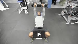 Incline Dumbell Bench Press 20 Chest Exercises For Men Elite Men U0027s Guide