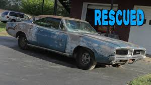 dodge charger 1969 for sale cheap abandoned 1969 dodge charger sitting for 20 years