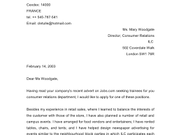How To Write Cover Letter Template Parts Clerk Cover Letter
