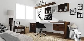 bureau style scandinave bureau bois fonc bureau design blanc et bois brook with