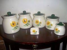 sunflower canisters for kitchen sunflower canister set kitchen canisters kitchen canisters