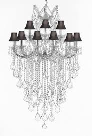 Chandeliers For Less by Foyer Entry Way Chandelier Chandeliers Crystal Chandelier